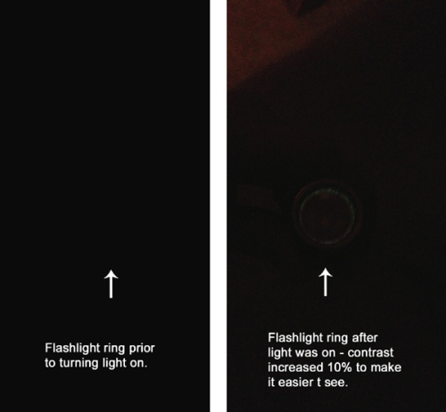 Flashlight ring comparison