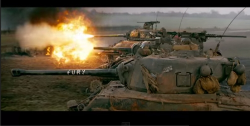 Fury-movie-Shermans-vs-Tiger