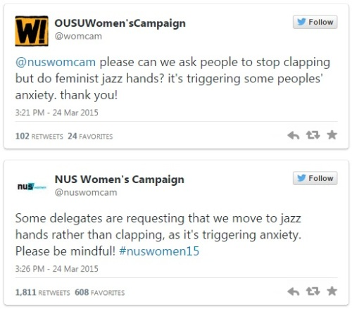 nus-womens-campaign-2015-jazz-hands-clapping-anxiety